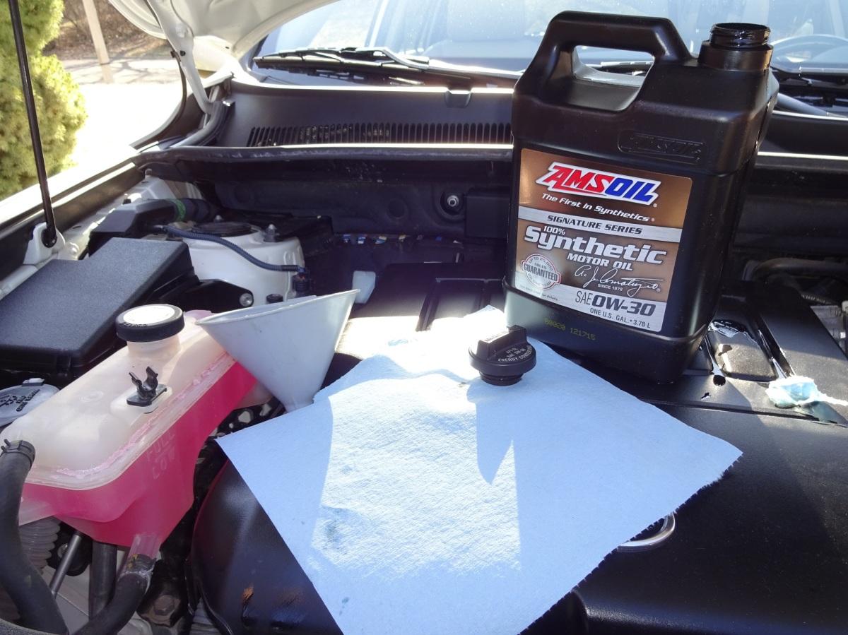 2011 Rav4 V6 Awd Engine Oil Change R56 Hs
